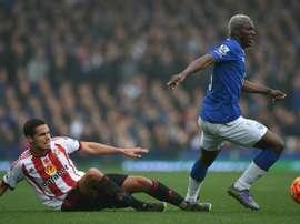 El delantero del Everton ha disputado 25 partidos esta temporada, sumando cinco goles. AFP