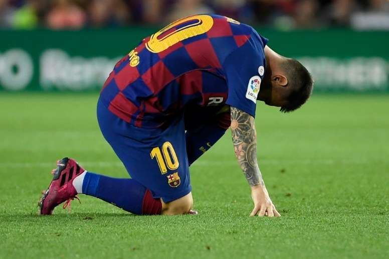 LaLiga president admits Barça asked to delay the Villarreal clash. AFP