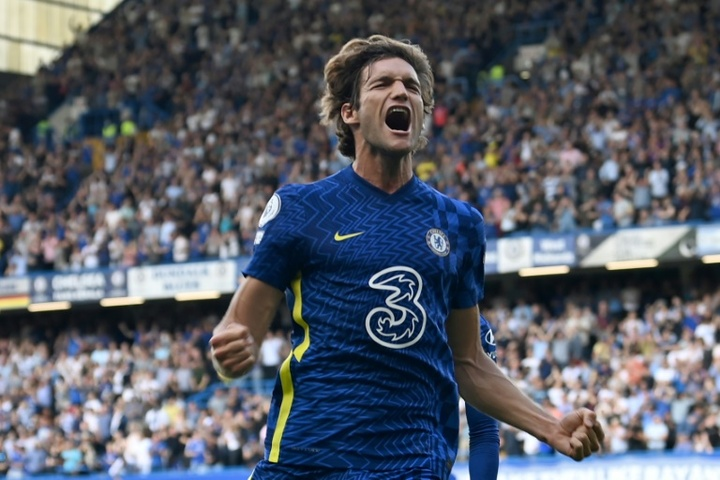 El Chelsea venció al Crystal Palace. AFP