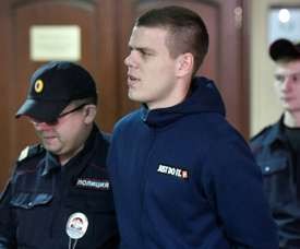 Kokorin and Mamaev will now spend a year and a half in prison. AFP