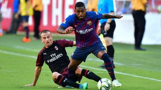 Malcom is thought to be very high on Tottenham's wishlist. AFP