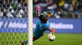 El Belenenses quiere seguir contando con Koffi. AFP