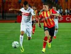 Brilliant Ounajem spurs Zamalek to win over champions Esperance. AFP