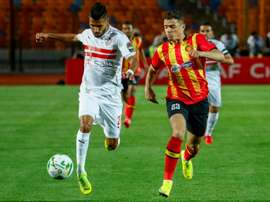 Brilliant Ounajem spurs Zamalek to win over champions Esperance. AFP
