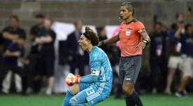 Guillermo Ochoa volvió con el sueño de ser otra vez campeón en América. AFP