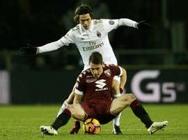 Romagonli est l'un des joueurs qui intéresse Sarri. AFP