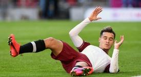 Manchester United a rejeté Philippe Coutinho. AFP