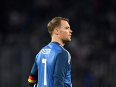 Manuel Neuer's status as Germany's No 1 is under threat. AFP