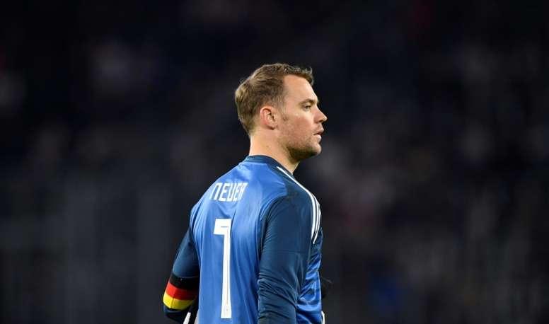 Manuel Neuer sera indisponible deux semaines. AFP