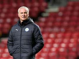 El Leicester estaría dispuesto a vender a un delantero. AFP