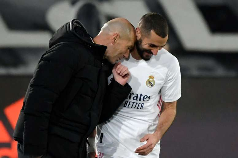 Benzema won't be distracted by sex tape trial, says Zidane. AFP