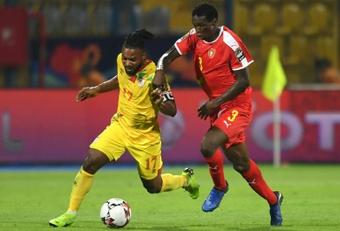 No fue la mejor tarde de fútbol en la Copa África. AFP