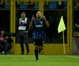 Inter forward Jonathan Biabiany. AFP