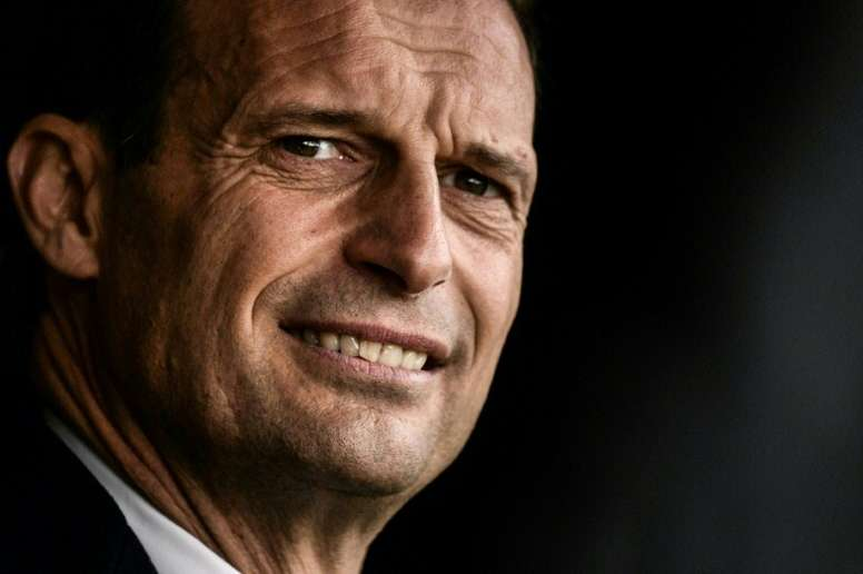 Allegri will take a year out of football after leaving Juventus. AFP