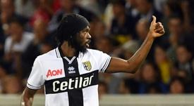 Gervinho is back in Italy. AFP