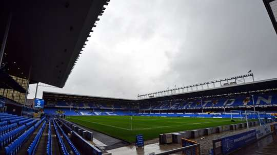 Everton have been slapped with a two-year academy transfer ban. AFP