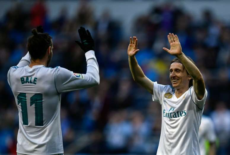 Modric continuará en el Real Madrid. AFP