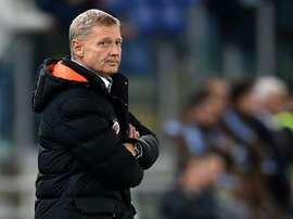 Zdenek Scasny led Sparta to the Europa League quarter-finals last season. AFP