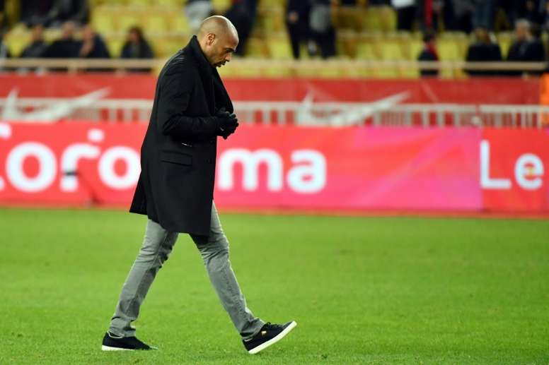 Sidibé explique l'échec Henry à Monaco. AFP