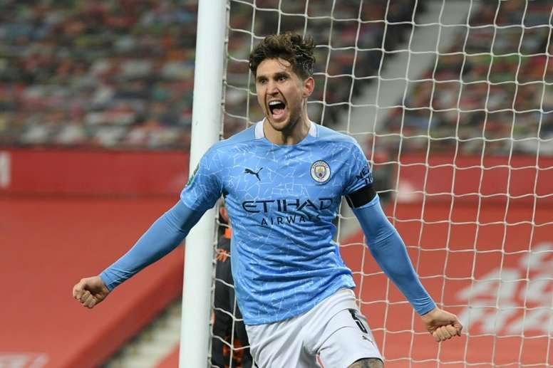 City win battle of Manchester to reach League Cup final. AFP
