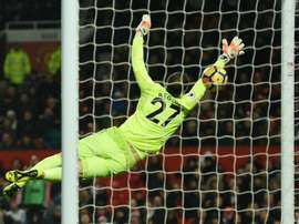 Bournemouth goalkeeper Asmir Begovic was speaking after Bournemouth's 4-2 win against Leicester. AFP