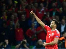 Robson-Kanu ha sido uno de los mejores jugadores de Gales en la presente Eurocopa. Archivo/EFE/EPA