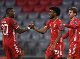 Bayern won 4-0. AFP