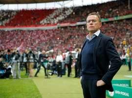 Ralf Rangnick a recalé Chelsea. afp