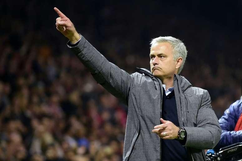 Mourinho se ha alzado con dos Champions a lo largo de su carrera. AFP