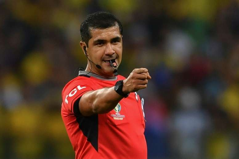 Zambrano came in for harsh criticism over his officiating in the Copa America. AFP