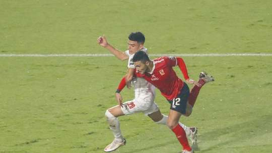 Al Ahly won 2-1. AFP