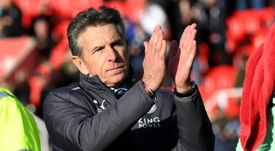 Puel will be hoping to secure victory for his side. AFP