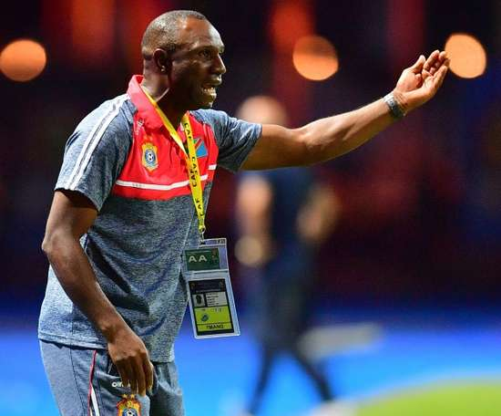 Florent Ibenge has resigned as coach of the Democratic Republic of Congo after five years. AFP