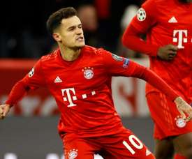 Coutinho may not have played his last match at Bayern. AFP