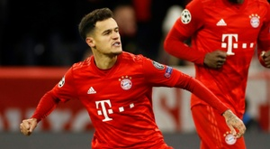 Dirigente do Bayern criticou as atuações de Coutinho. AFP