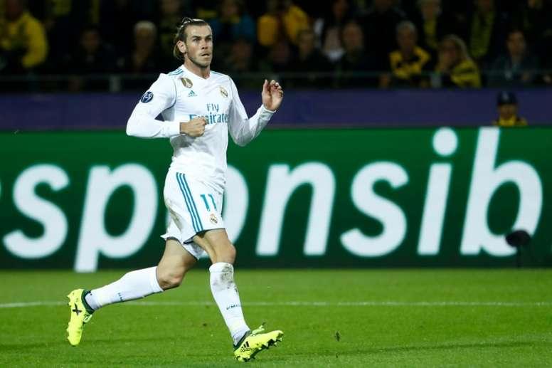 Bale podría no ser titular ante el PSG. AFP