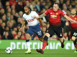 United propose Phil Jones à West Ham. AFP
