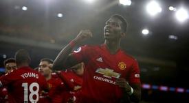 El United, a punto de gastar 160 millones... y de 'acercar' a Pogba al Madrid. AFP