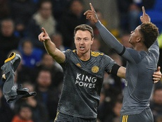 Gray was Leicester's match-winner in Wales. AFP