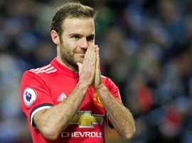 Mata tem sido uma peça importante no esquema de Mourinho em Old Trafford. AFP