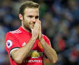 A oferta recusada por Mata para continuar no United. AFP