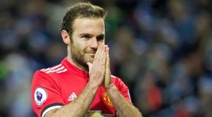 Juan Mata fue todo honestidad en el choque ante el Stoke. EFE