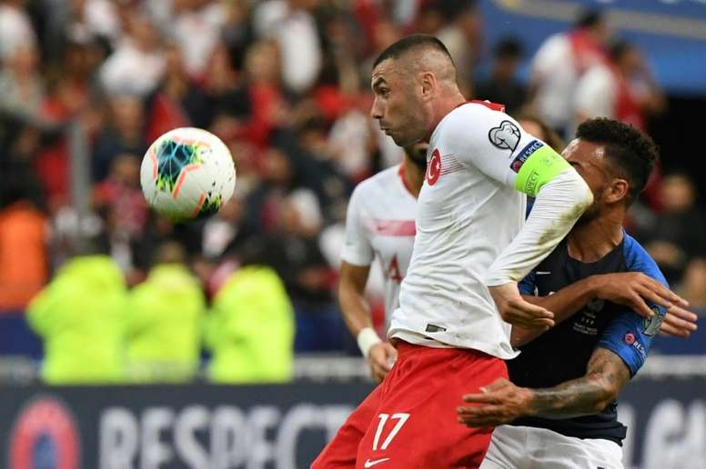 Yilmaz has signed for Lille. AFP