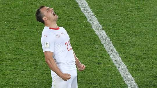Shaqiri will carry his side's hopes on Tuesday. AFP