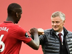 Solskjaer is realistic on transfers but keen to keep Pogba. AFP