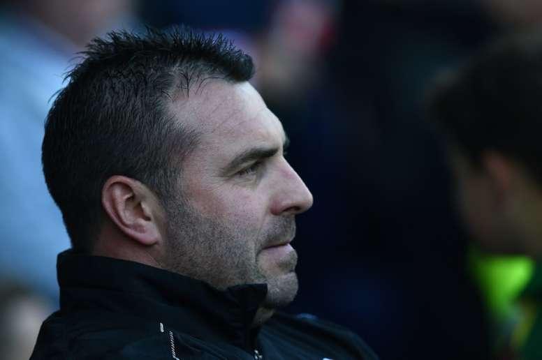 Unsworth tiene en sus planes a una joven promesa del fútbol inglés. AFP