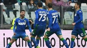 Le formazioni ufficiali di Sassuolo-Lecce. AFP