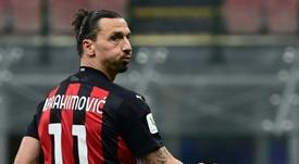 Ibrahimovic deu uma entrevista esclarecedora. AFP