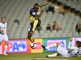 O jamaicano ajudou a sua equipe a vencer. AFP