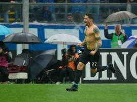 Borriello joue toujours. AFP